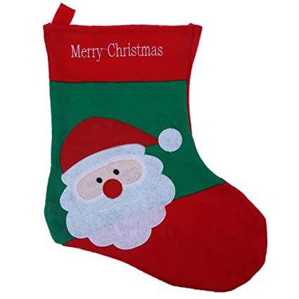 Adorno de demiawaking calcetín medias Festival de Navidad Candy bolsa de regalo grandes calcetines para niños