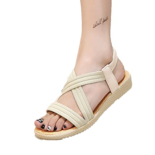 48ec0b728528 Image Unavailable. Image not available for. Color  Perfect-Sense-Show Summer  Women Sandals Bohemia Comfortable Ladies Shoes Beach Gladiator Sandal Women