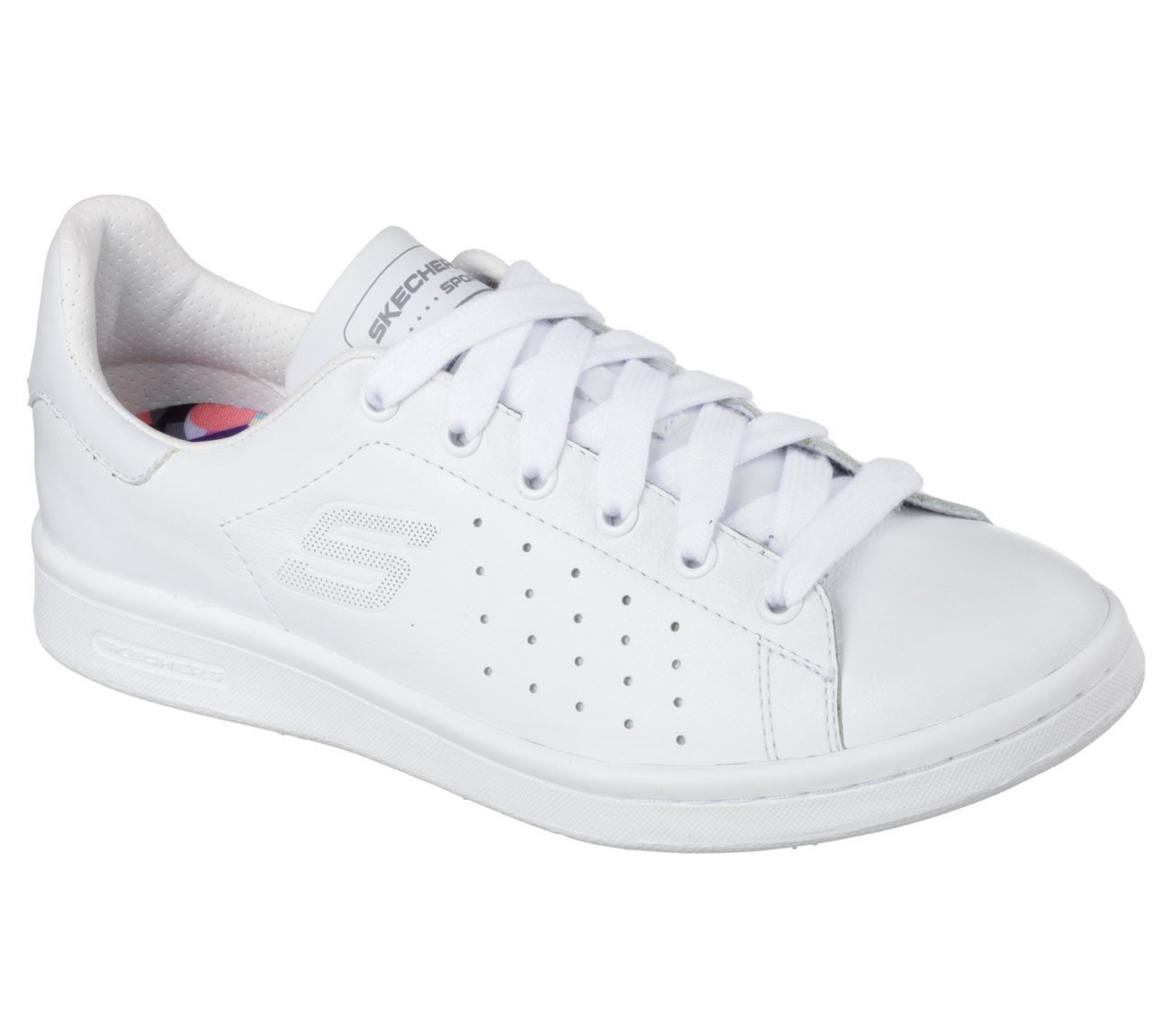 Skechers Damen Onix Sneakers  38 EU|Wei? (Wht)