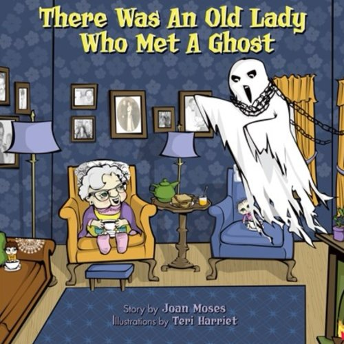 There Was An Old lady Who Met A (Old Lady Halloween Book)