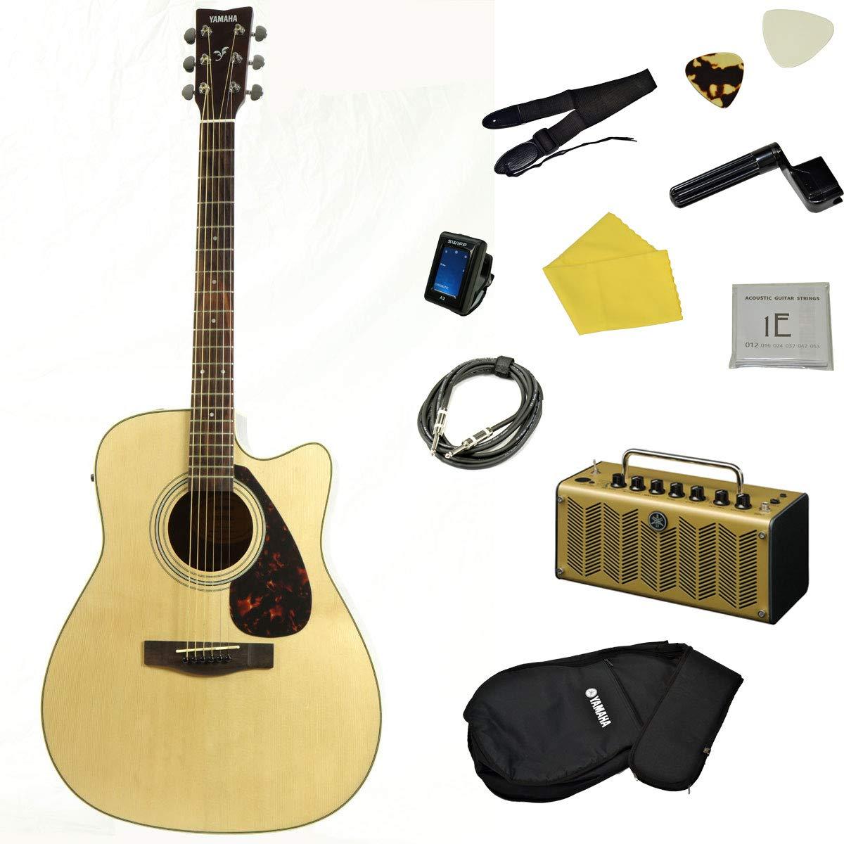 YAMAHA / FX370C NT 【入門エレアコ/THR5Aアンプシンプルセット】 ヤマハ エレクトリックアコースティックギター FX-370C   B07KP4DPHB