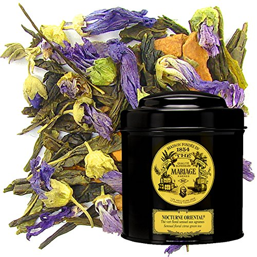 MARIAGE FRERES. Nocturne Oriental, 100g Loose Tea, in a Tin Caddy (1 Pack) NEW EDITION - USA Stock