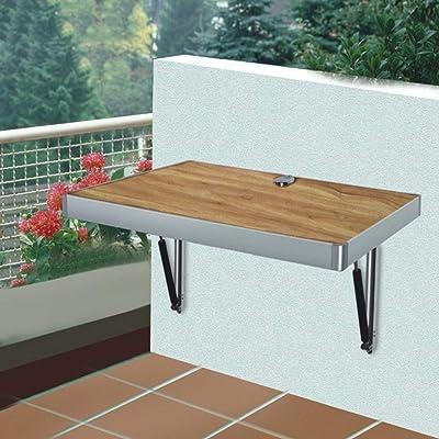 ZHAS Controle la Mesa de la Pared Mesa de Comedor Plegable Mesa de la Pared de Pino Mesa de la Cena Tamaño Opcional (Color: B, Tamaño: 100CM): Hogar