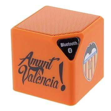 Valencia CF Orange Bluetooth Speaker Official Product: Amazon.es: Electrónica