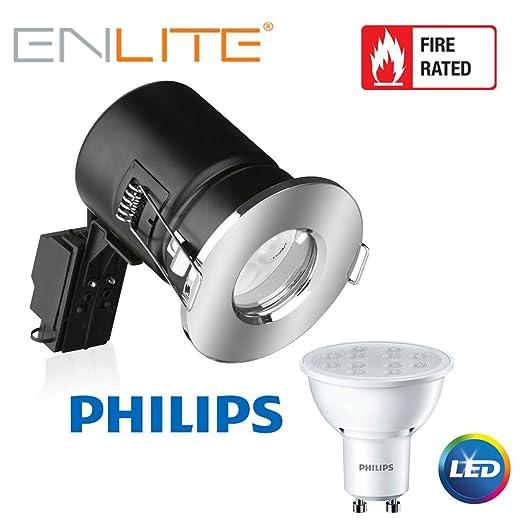 Bombilla LED Enlite IP65 baño Downlight con Philips 5 vatios a + de alta potencia LED