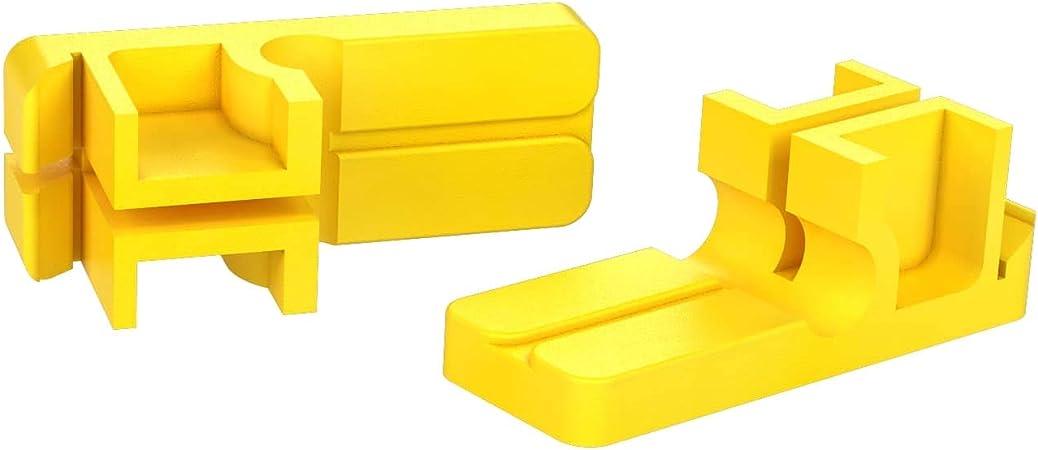 MARSHALLTOWN The Premier Line 86P Plastic Line Blocks and Twigs 2 pair Line Blocks and 4 Twigs//Set