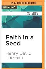 Faith in a Seed MP3 CD