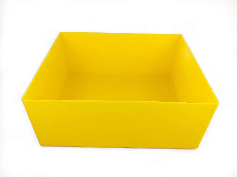 Plast'Up Rotomoulage 51029J Pflanztopf, Gelb PLAST UP ROTOMOULAGE