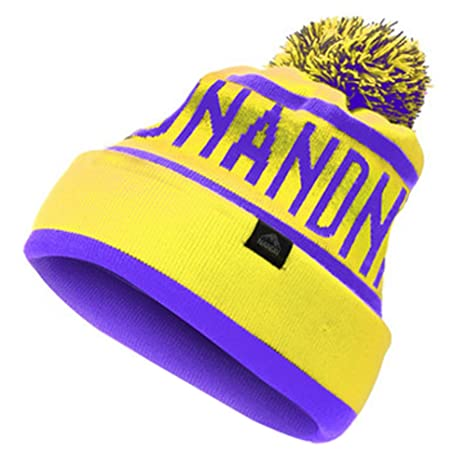 c723a6b4ba342f Image Unavailable. Image not available for. Color: Kylin Express Warm  Beanie Hat Knit Winter Hats Skull Hat Unisex Sports Caps (Yellow/