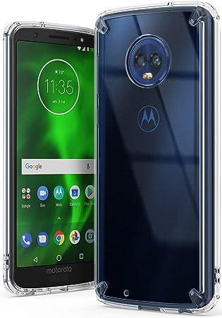 Ringke Funda Motorola Moto G6 (2018), [Fusion] Claro PC TPU Back ...