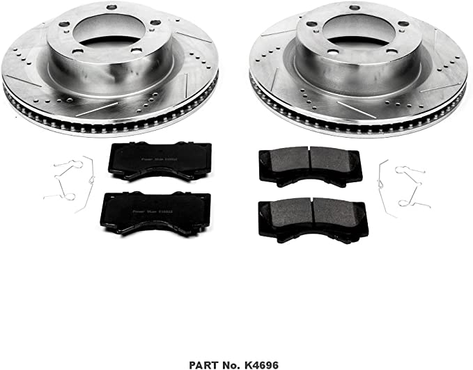 Performance Parts & Accessories Power Stop K4117 Front and Rear ...