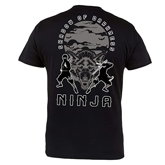 Rule Out Camiseta Prenda de Lucha Ninja. Sombra de Darknes ...