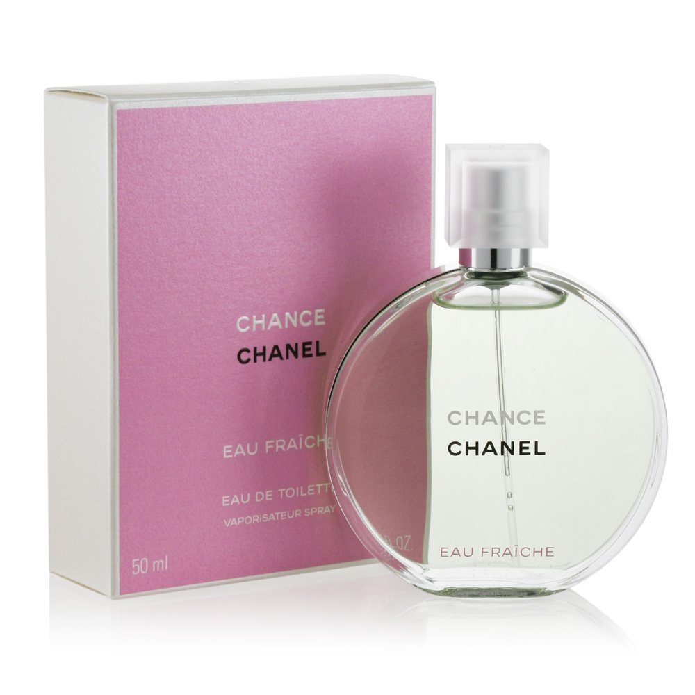 Chânel Chance Eau Fraiche Eau De Toilette Spray For Women 1.7 oz/ 50 ml