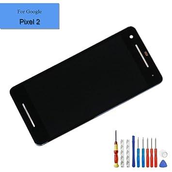 swark Ersatz LCD Display schwarz Touchscreen Digitizer F/ür Google Pixel Nexus S1 5 Zoll mit Frei Werkzeuge