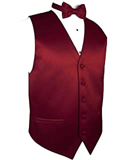 c544c29f9fa0 Exclusive Distributor Solid Dress Vest & Bow Tie Set for Suit or Tuxedo