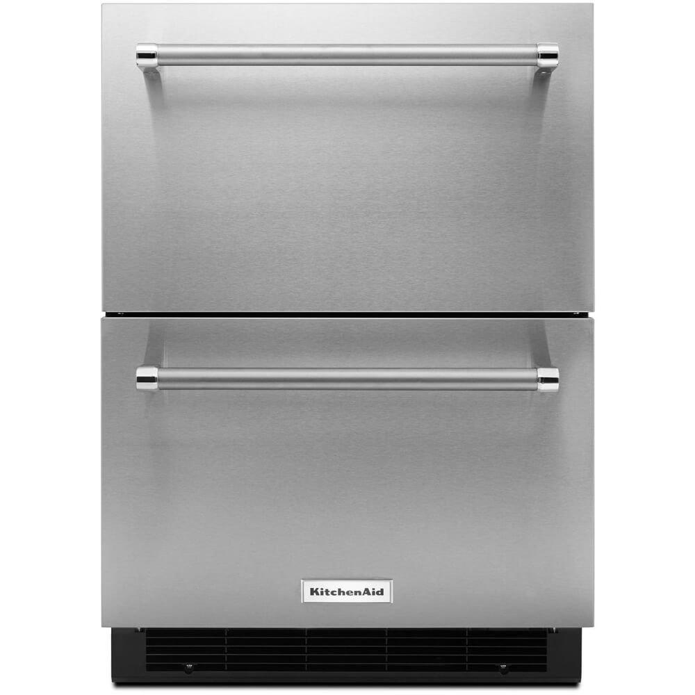 Kitchen Aid KUDR204ESB KUDR204ESB 4.7 Cu. Ft. Stainless Double Refrigerator Drawer
