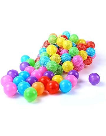 664bc7d17 GZQ 100 pcs Diametro 5.5 cm Multicolor Bolas, Bolas de Plástico para  Piscina, Juguete