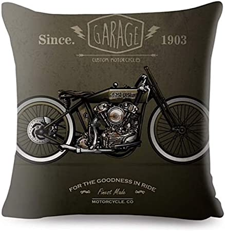 KUSTOM FACTORY Coussin Moto Vintage Born to Be Wild