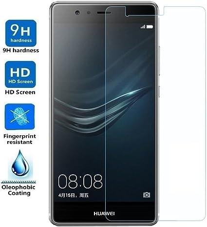 REY Protector de Pantalla para Huawei P9 Plus Cristal Vidrio Templado Premium: Amazon.es: Electrónica