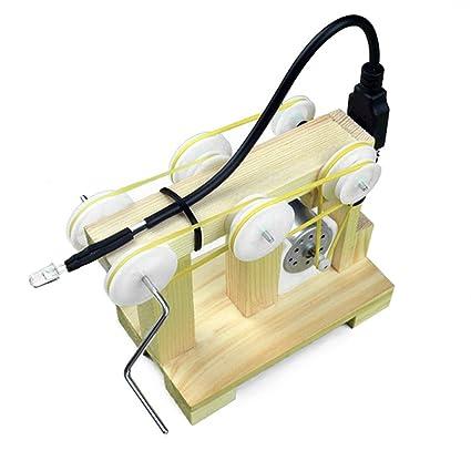 Accesorios Multiherramienta Multiherramienta Generador de ayuda a la ense/ñanza Ciencia Puzzle Little Wrench Material de bricolaje Generador de mano Generado experimental Modelo ensamblado Juguetes