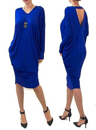 3f8542bf7f7 Vivicastle Women s USA Loose Bat Wing Dolman Poncho Tunic Dress Top ...