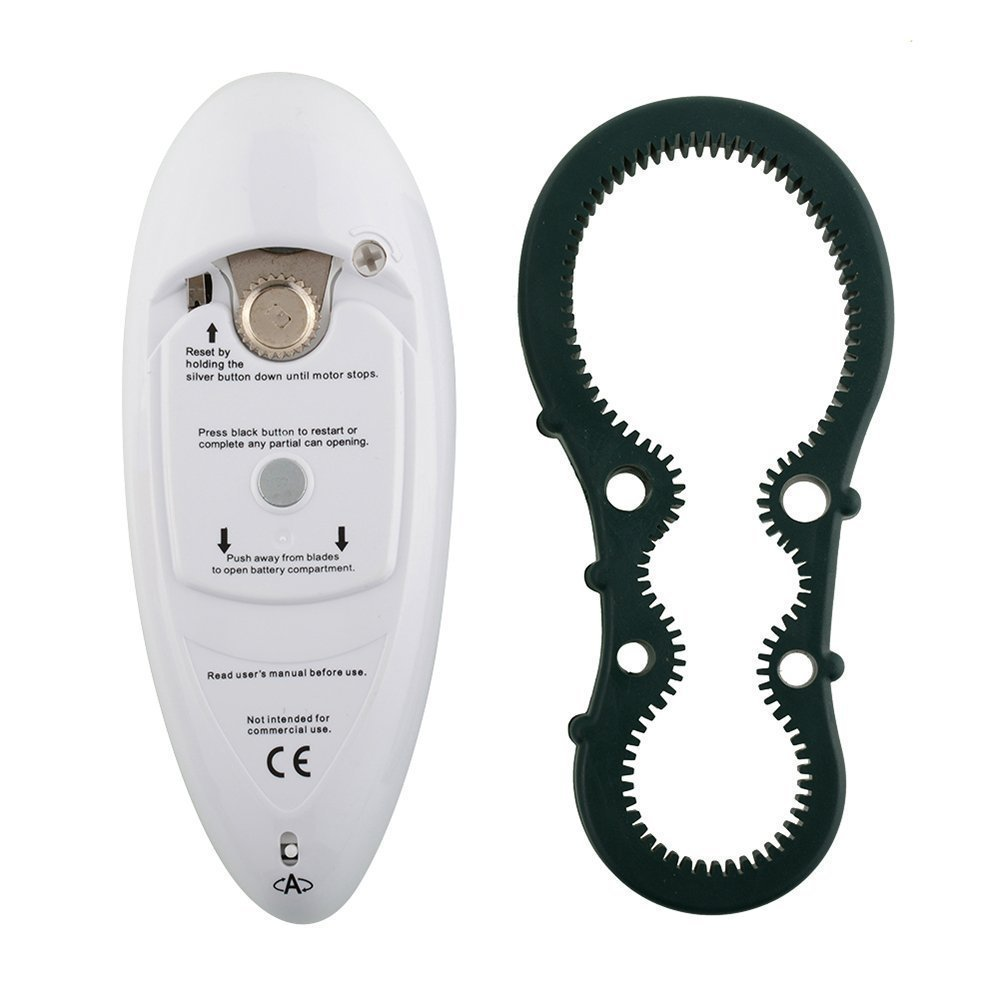 Eebuy Electric Can Opener,Smooth Edge Automatic Electric Can Opener with One-Touch Start,Restaurant can Opener