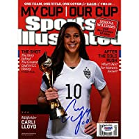 Carli Lloyd Signed 2015 World Cup Sports Illustrated Magazine - PSA/DNA Authentic Signed Autograph