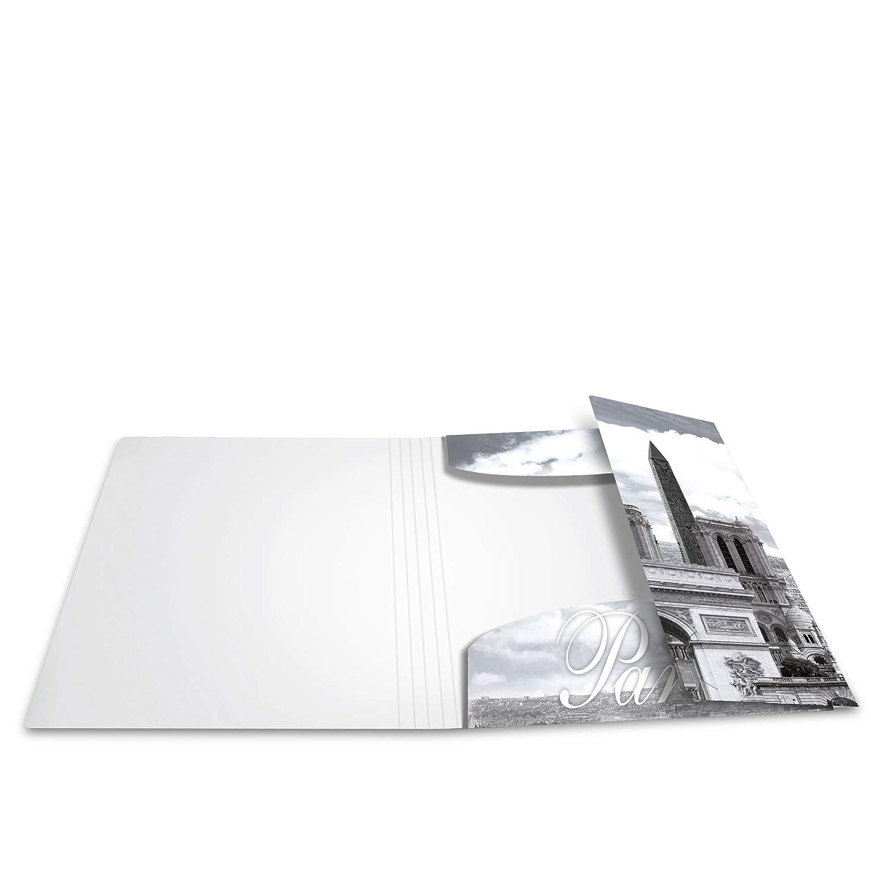 7 cm breit aus stabilem Karton mit St/ädte Innendruck HERMA 7169 Motiv-Ordner DIN A4 Trendmetropolen 10er Set Aktenordner Ringordner Briefordner 10 Ordner