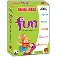PIONEERS - FUN, For Key Stage - 2 : Pack of 3CDS : Age 7-11 Years : English | Environmental | General Knowledge | Science | Maths | Universal Syllabus