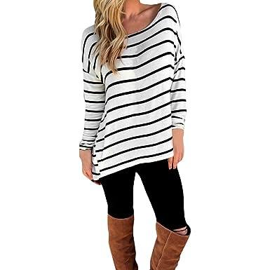 Tunique T Blouse Manches Motifs Shirt CHIC Longues Femme CHIC 5qxFnqzg
