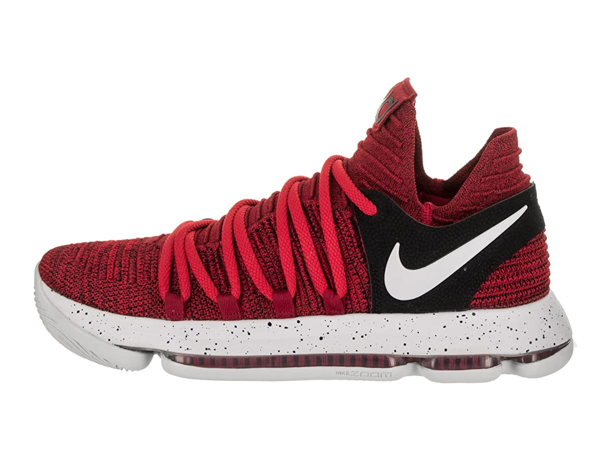 best sneakers 70a94 7ae57 Nike Men s Zoom KD 10 University Red Pure Platinum Basketball Shoe 11 Men  US  Amazon.in  Shoes   Handbags
