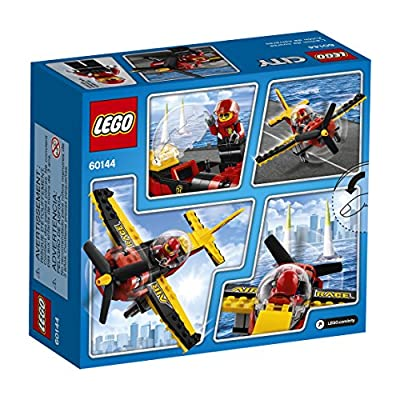 LEGO City Great Vehicles Race Plane 60144 Building Kit: Toys & Games