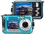 デジカメ 防水 防水カメラ デジカメ 水中カメラ デジタルカメラ デジカメ スポーツカメラ フルHD 1080P 防水デジタルカメラ 24.0MPデュアルスクリーン オートフォーカス デジカメ 水に浮く