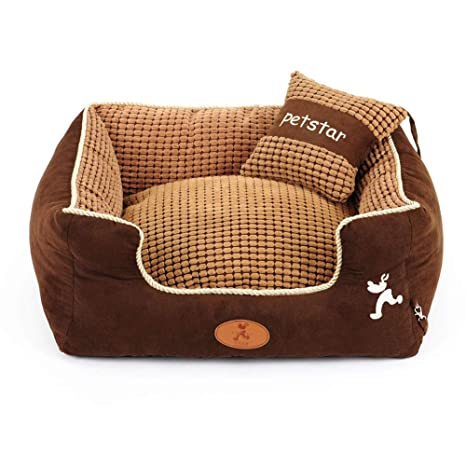 Amazon.com: Large Dog Bed Rectangle Ultimate Dog Couch with ...