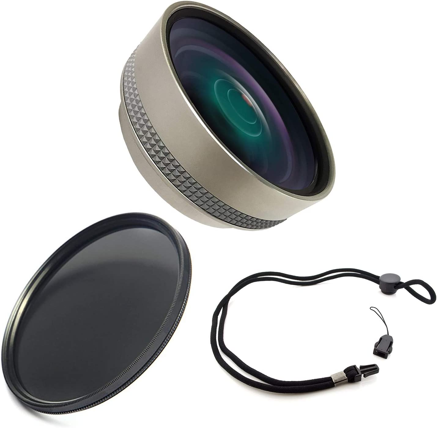 67mm Circular Polarizing Filter High Definition Olympus Tough TG-3 0.4X Wide Angle Lens with Macro Krusell Multidapt Neck Strap Lens Adapters