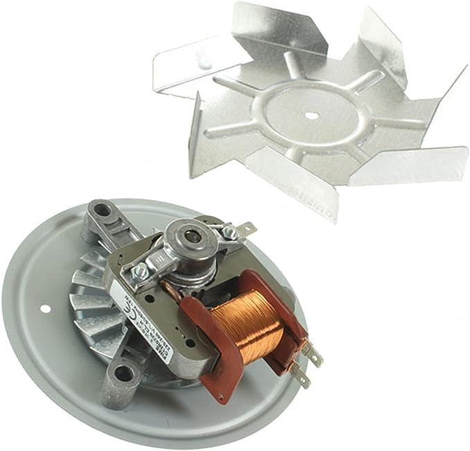 Spares2go aspa del ventilador y unidad de motor para Fagor horno ...
