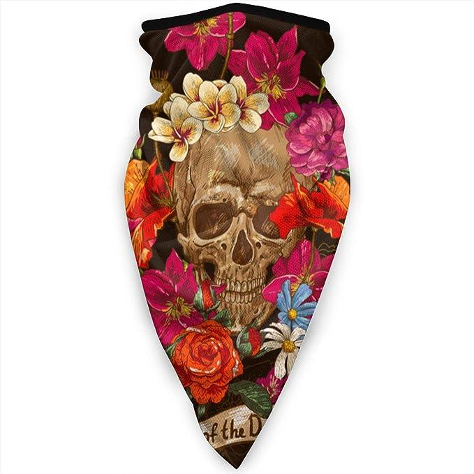 Bgejkos Invierno Cuello Bufanda cráneo y Flores día del Vector ...