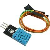 KKHMF DHT11 湿度センサーモジュール 温度センサー モジュール Arduinoと互換 デュポンラインと付属