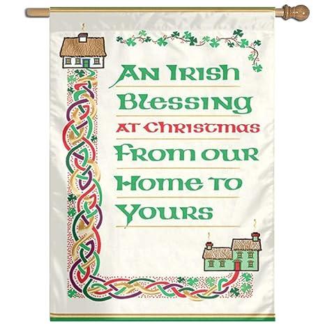 Irish Christmas Blessing.Amazon Com Irish Christmas Blessing Christmas Welcome