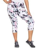 Ideology Womens Printed Cropped Capri Pants