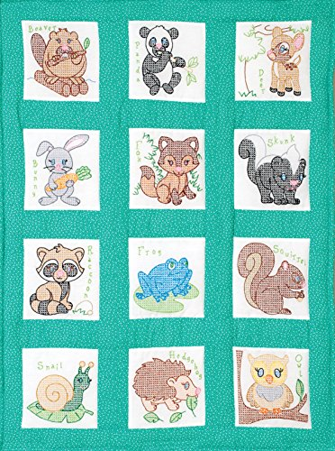 Jack Dempsey Forest Friends Nursery Quilt Blocks