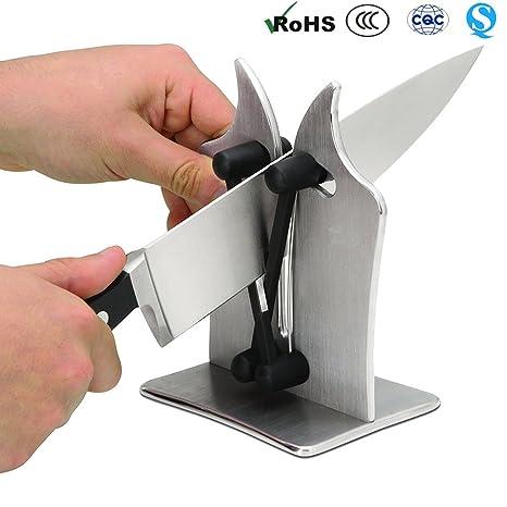 Compra ilucky Vulkanus - Afilador cuchillos lisos y ...