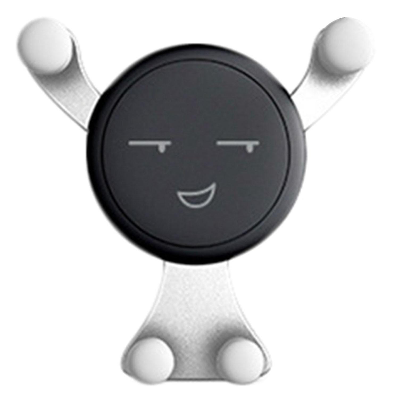 mekolen Portatelefono per Auto Staffa a Gravità per Uscita D'aria, Forma di Smiley