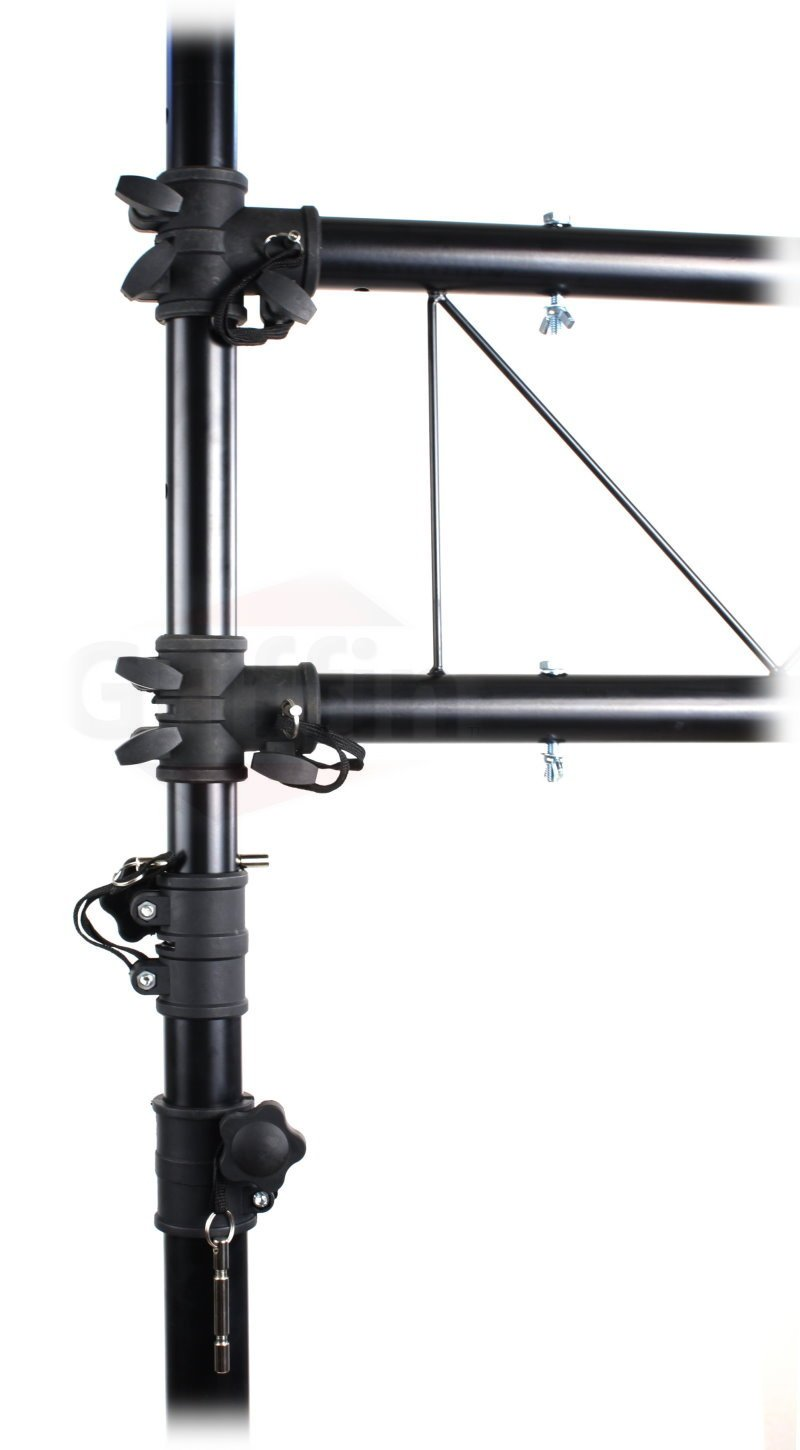 Amazon.com DJ Light Truss Stand System by Griffin|I-Beam Trussing Equipment Set|Hanging Mount Lighting Package for Music Gear PA Speakers ...  sc 1 st  Amazon.com & Amazon.com: DJ Light Truss Stand System by Griffin|I-Beam Trussing ... azcodes.com