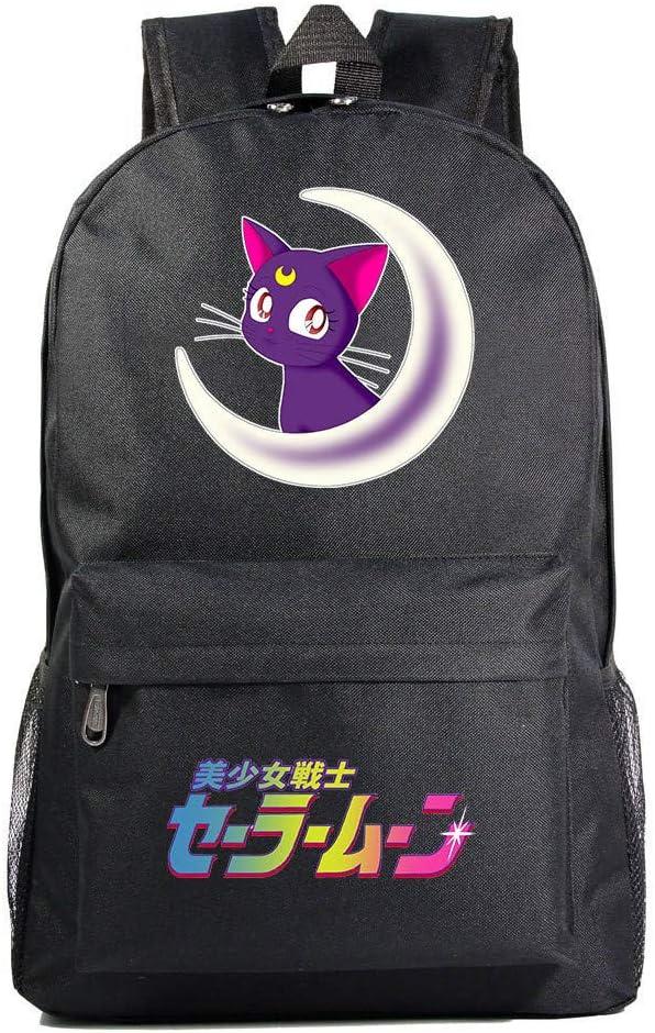 Unisexo Mochila De Anime Sailor Moon Mochila Tipo Casual ...