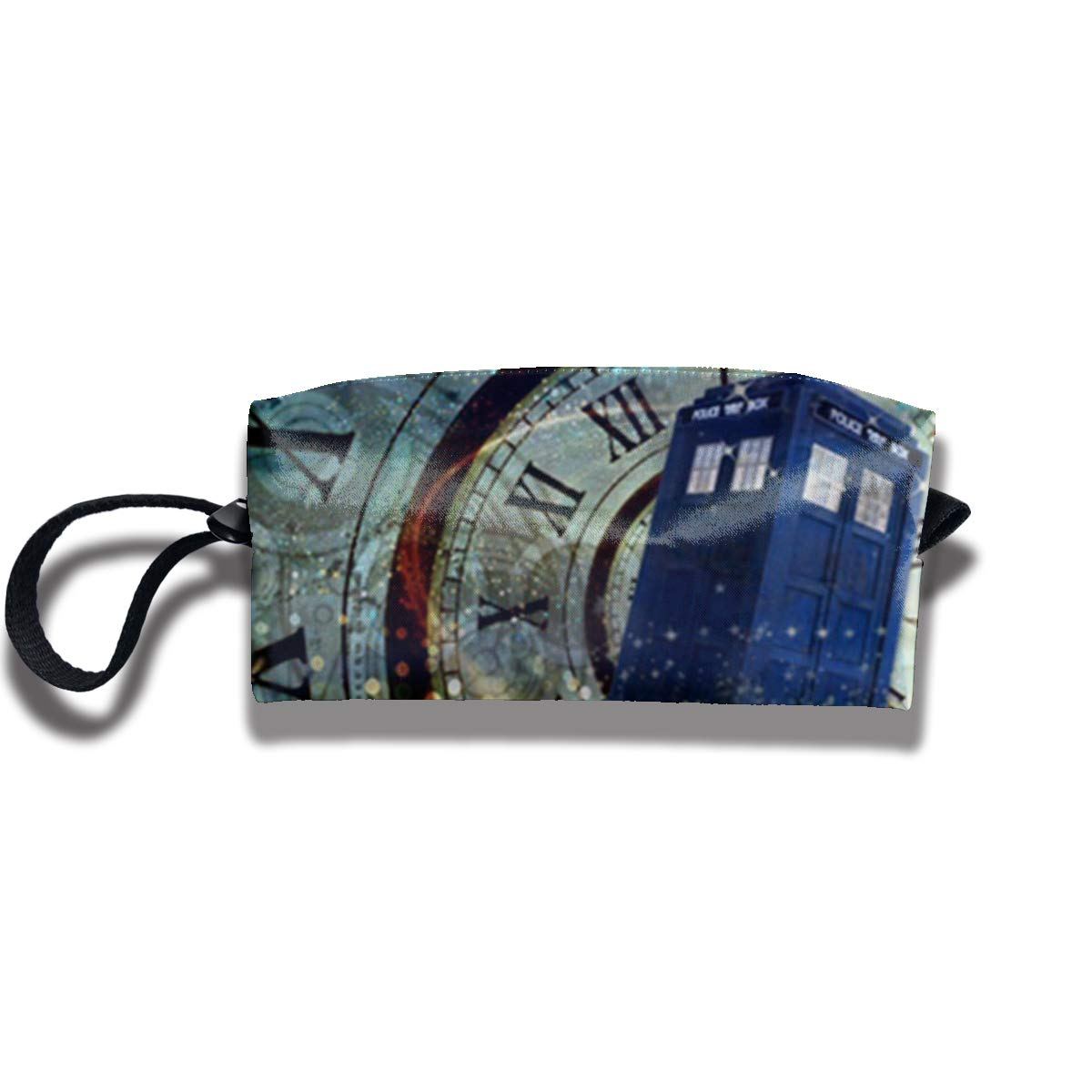 Malsjk8 Doctor Dr Women¡ ¯ s Travel Cosmetic Bags Small Makeup Clutch Pouch Cosmetic and Toiletries Organizer Bag