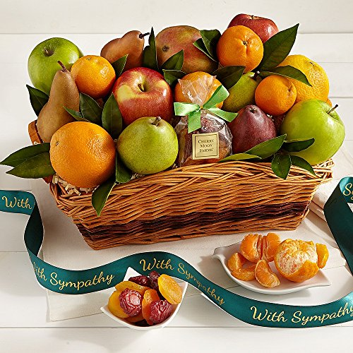 Shari's Berries - Love and Sympathy Basket - 1 Count - Gourmet Fruit Gifts