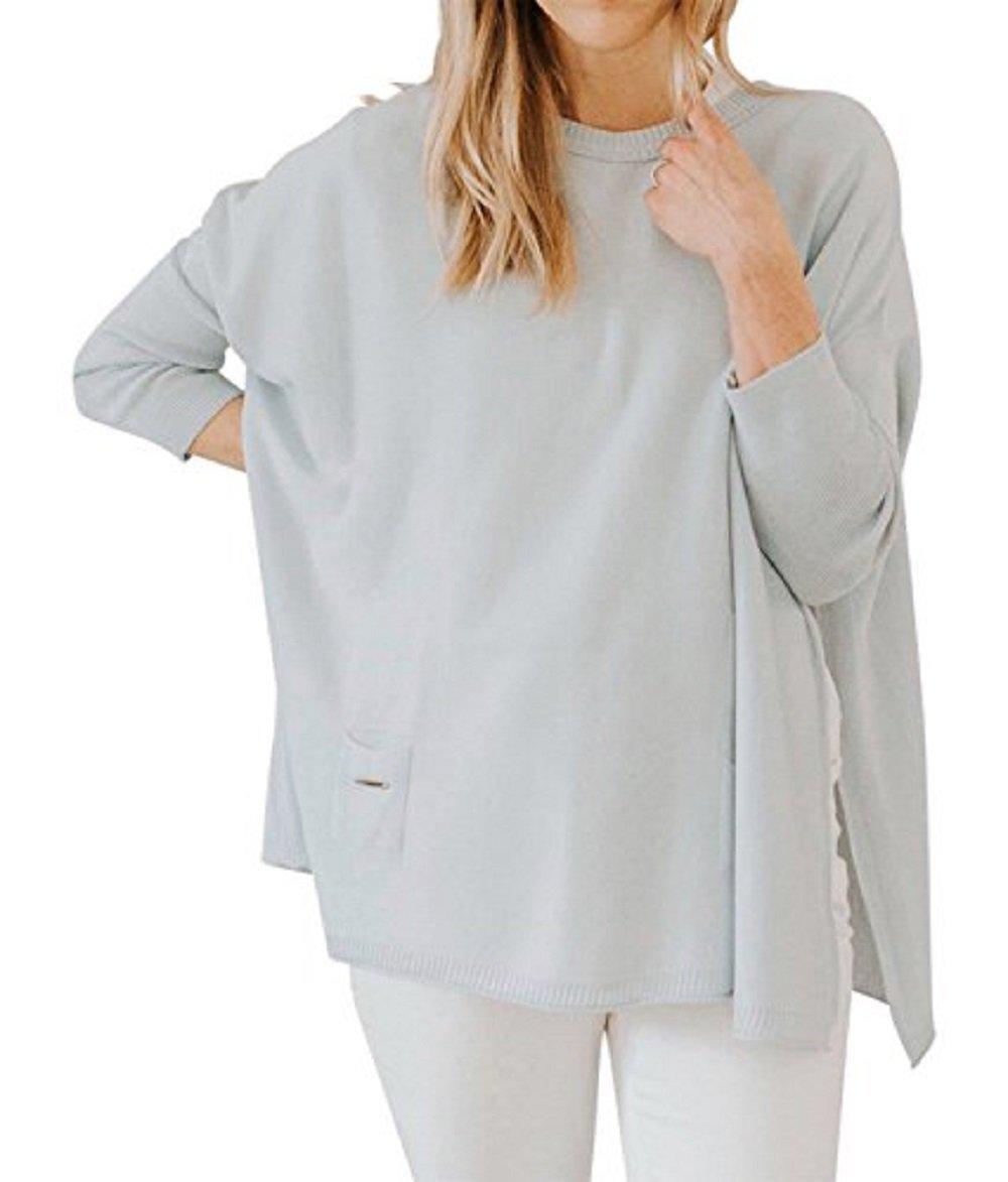 Mer Sea Travel Sweater (Catalina-Crewneck Mini Pocket Sky)