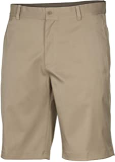 best service 0f1a6 b35fb Nike Mens Flat Front Stretch Golf Shorts Khaki