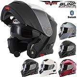 V271 BLINC VCAN Motorrad-Klapphelm, mit Bluetooth-Funktion, in vielen Farben erhältlich